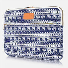 "15.6"" Cute Elephant Patterns Laptop Notebook Sleeve Case Bag For Lenovo Dell HP"