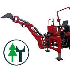 Bagger HB24S Anbaubagger Heckbagger+Holzgreifer Traktoren Seitenverschub