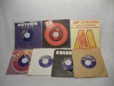 Lot of 7 - 45 rpm/Lionel Richie, Supremes, Bobby Nunn, Janet & Jermaine Jackson