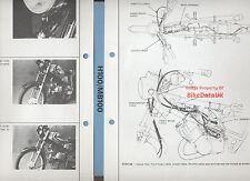 Honda H100A (1980-on) Dealers Set-Up Manual H100,MB100,MB/H 100 A (pre-H100S)