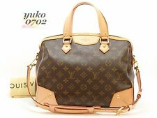 w4314 Auth LOUIS VUITTON Monogram MB4102 Retiro PM 2 WAY Shoulder Bag M40325