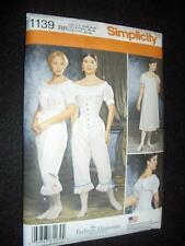 Civil War Underwear Simplicity 1139 Pattern Size 14-20 Chemise Drawers Corset