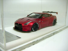 1/43 D&G Miniature Specials  Nissan GT-R Wide Body Chrome Red Miniwerks