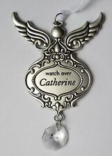 sd WATCH OVER Catherine Guardian Angel ORNAMENT Car charm Ganz prism