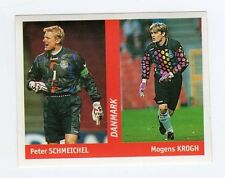 figurina DS CALCIATORI WORLD CUP FRANCE 98 NUMERO 115 DANIMARCA SCHMEICHEL, KROG