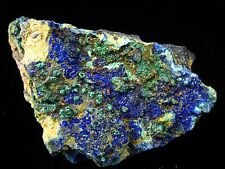 Azurite/Malachite - Deep Blue and Green Collectable Direct from Morocco