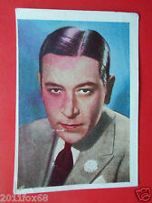 figurine attori actors acteurs nestle stars of the silver screen 148 george raft
