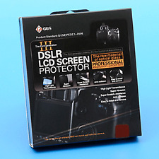 GGS Canon 1D MKIV Fit Pro Removable Glass Digital Camera LCD Screen Protector