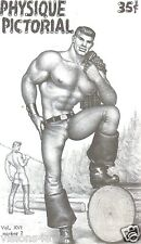 PHYSIQUE PICTORIAL MAGAZINE* VOL 16 NO 2* LUMBERJACK* TOM FINLAND COVER
