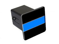 Thin Blue Line - Tow Trailer Hitch Cover Plug Truck Pickup RV