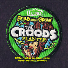 LMH PATCH Badge  CROODS  Planter   LOWES Build Grow Project Series Kid's Lowe's