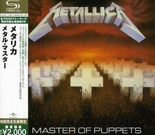 METALLICA Master of Puppets CD JAPAN 2009 SHM-CD AUTHENTIC UICY-91453 s4180