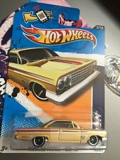 HOT WHEELS 1:64 SCALE MUSCLE MANIA-GM '12 '62 CHEVY,