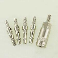 23022013 5 Stück Luft Kompressor Schlauch Schnellkupplung Set Sprühpistole