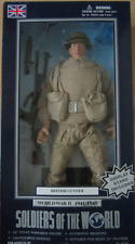 Soldiers of the World, WW2, WWII - British Gunner - 12 inch figure - GI Joe size