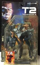2001 MCFARLANE TOYS Movie Maniacs 4- Terminator 2 Judgment Day- T-1000 Figure