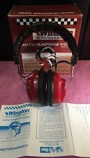 Vintage 1989 Winston Cup NASCAR Am-Fm Radio Headphones Model HP-10000