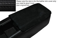 BLACK STITCHING SUEDE ARMREST SKIN COVER FITS NISSAN S14 200SX 1994-1999