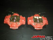 JDM Subaru Impreza WRX Rear 2 Pot Piston Red Brake Calipers Legacy Forester #830