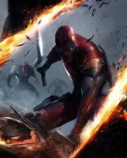 """MARVEL  """" Deadpool """"    Mutant  X-men    Fridge Magnet 4""""x6""""  Decor  #8"""