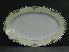 """1ea.14""""OVAL SERV PLATTER~P#1328 THE MINTO~PAUL MULLER SELB BAVARIA GERMANY CHINA"""