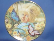 APRIL GIRL - BUTTERFLY RUDY ESCALERA PLATE  NIB