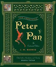 THE ANNOTATED PETER PAN - MARIA TATAR J. M. BARRIE (HARDCOVER) NEW