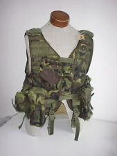 CZECH ARMY original issue VZ95 camo tactical vest w/ integral 30 rd pouches #2