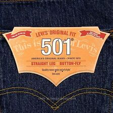 Levis 501 Jeans New Size 34 x 30 DARK STONEWASH Mens Button Fly #471