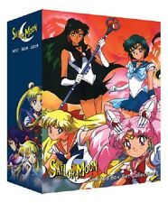 Sailor Moon Complete TV Season 1 2 3 4 5 DVD R S Super Stars +3 Movie Collection