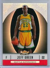 2006-07 Finest Refractors #105 Jeff Green 30/399 XRC REDEMPTION CELTICS CLIPPERS