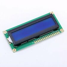 DC 3.3V HD44780 1602 LCD Display Module 16x2 Character LCM Blue Blacklight NEW