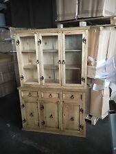 Vitrinen Schrank (Kücheneinrichte)weichholz