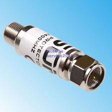Protezione da Corrente per Satellite Surge Protector Sat TV Cavo Antenna In Line
