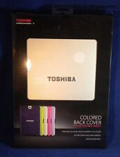 "New Open Box Toshiba Colored Back Cover 10"" Toshiba Thrive Tablet - Silver Sky"