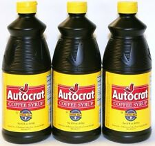 Autocrat Coffee Syrup 6 bottles!
