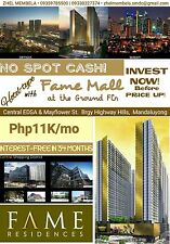 Pre-selling: FAME residences Hotel-type Condo by SMDC 11K/Mo