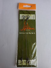 Radical Quantum Barbless Carp Rig set 6  'd' ring  pop up  standard size 6 hook