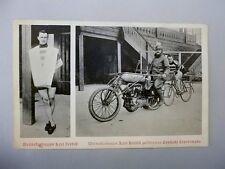 Belgien K. Verbist Radrennen ~1907 Rennrad Weltrekordmann Oldtimer Motorrad