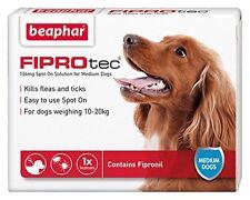 Beaphar FIPROtec Pipette for Medium Dog 1 Treatment Pack