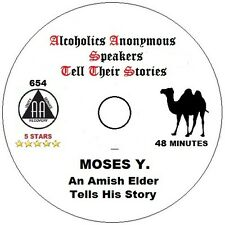 Alcoholics Anonymous AA Speaker CD - Moses Y. Amish Elder KY 1967