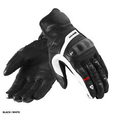 Rev'It Chevron Motorcycle Gloves Black White Medium MD