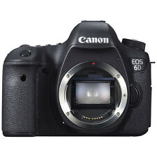 "Canon EOS 6D Digital SLR Camera, HD 1080p, 20.2MP, GPS, 3"" LCD Screen, Body Only"