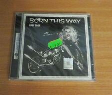 Lady Gaga - Born This Way CD (2011) Album Rare Romanian Edition Sealed