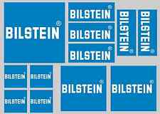 BILSTEIN STICKER SETS - SHEET OF 12 STICKERS - DECALS
