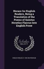 Horace for English Readers, Being a Translation of the Poems of Quintus...