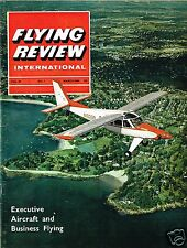 FLYING REVIEW INT MARCH 65: LEARJET CUTAWAY/ FAIREY BATTLE/ RUSSIA'S HELICOPTERS