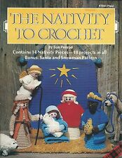 The Nativity To Crochet Sue Penrod Pattern Booklet 1983 Plaid #7691 NEW OOP