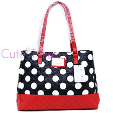Disney Minnie Mouse Polka Dot Embossed Red Quilt Bag Satchel by Loungefly