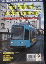 LIGHT RAIL AND MODERN TRAMWAY MAGAZINE - November 1997 - Vol. 60 - No. 719